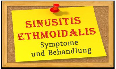Sinusitis ethmoidalis